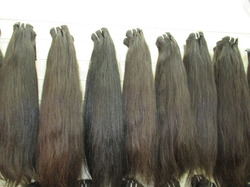 Machine Weft Straight Wavy Hair