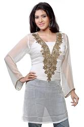 Traditional White Kurti