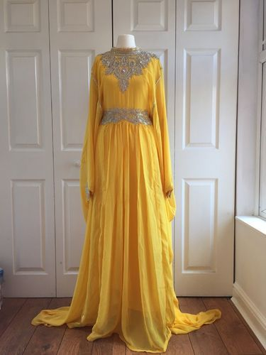 e698ed9c7894 Kaftan Jalabiya Abaya Maxi Dress Wedding, Ladies Jalabiya, Womens ...