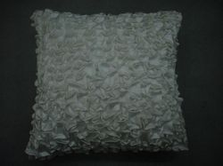 White Designer Cushion Cover