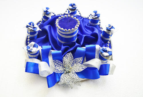 blue engagement ring tray - Blue Wedding Ring