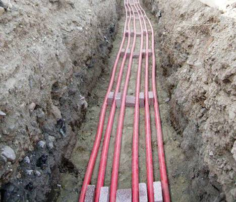 Cable Laying With Cable Trench In Airoli Navi Mumbai
