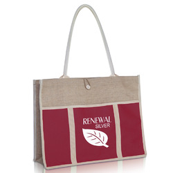 Jute Shopping Bags - Storage Bags Manufacturer from Surat