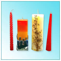 Perfumed Pillar Candles