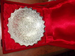 Silver Plated Round Plate