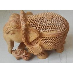 Undercut Carving Elephant