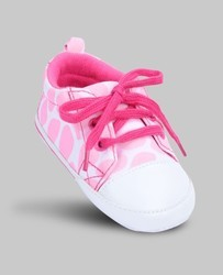 Pink & White Skateboard Sneakers