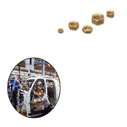 Brass Nuts for Automobile Industry