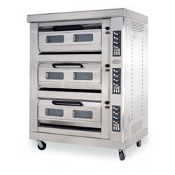 Three Deck  Six Tray Gas Oven