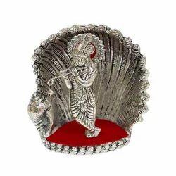 Metal Goddess Sculpture