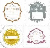 Gift Labels Design