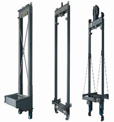 elevator counter weight frame view specifications details of