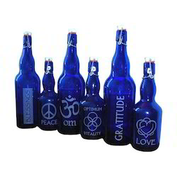 Blue Color Bottles