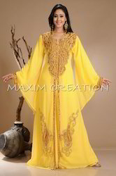 Palestinian Kaftan Maxi Dress