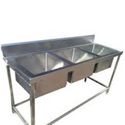 High Quality Stainless Steel Triple Sinks