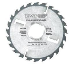 Multi-Rip Saw Blades With Rakers