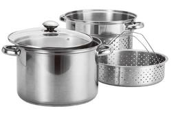 Stainless Steel Steamers & Pasta Cookers