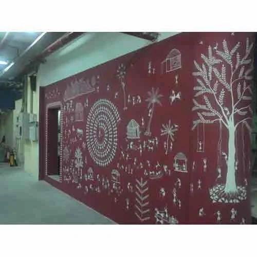 Warli Art On Walls - Warli Wall Art Manufacturer from Vasai