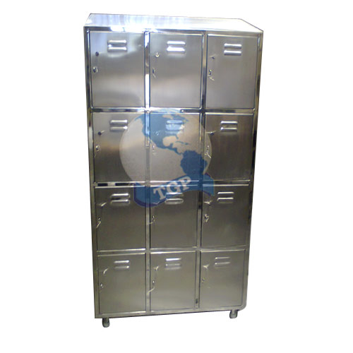 TGPE Stainless Steel Locker With 12 Compartment