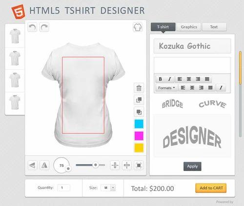 T Shirt Designer Tool Application Management Software Application Software And System Software Bentley Application Software Packages Bentley Systems एप ल क शन स फ टव यर प क ज In Ms Nagar Bhubaneshwar Riaxe Systems Private