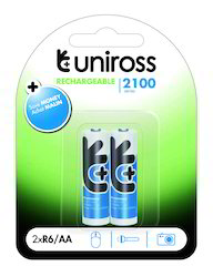 2100 AA NiMH Rechargeable Battery