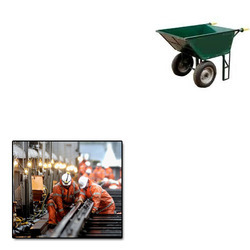 Double Wheel Trolleys for Engineering Works
