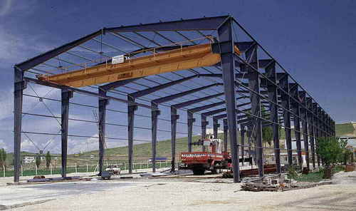 PEB Built Up I Section To Make Primary Structural Framing - Aparna ...