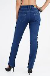 Straight Ladies Jeans