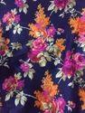 Art Raw Silk Print Fabric