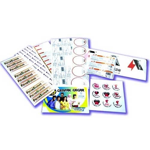 Sticker printing services
