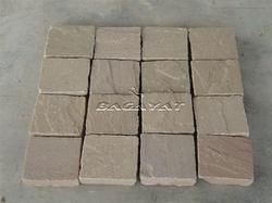 Autumn Brown Sandstone Cobbles
