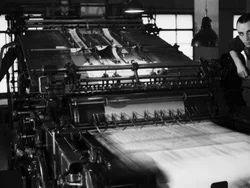 News Paper Printing Machine