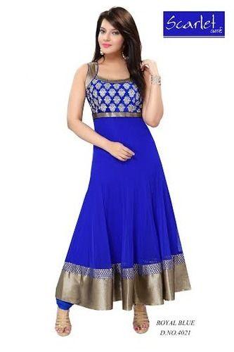 Party Wear Ladies Punjabi Suit Ladies Punjabi Suits Kandivali