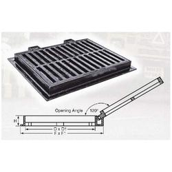 Grating with Frame