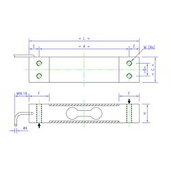 Load Cell Single Point Scale