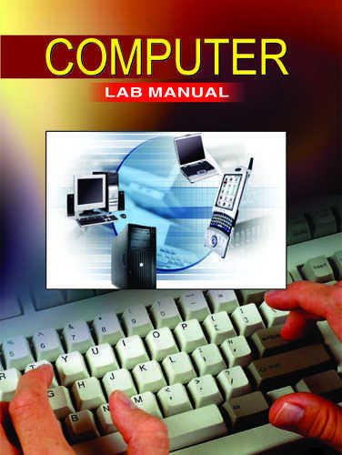 What's inside a computer lab manual.