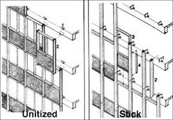 Stick Curtain Wall Systems
