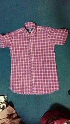 Check Half Sleeve Shirt