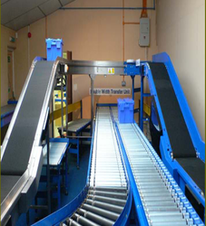 Vibrating Conveyors Rubber Powered Roller Conveyors