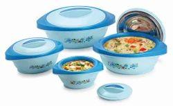 Fusion Hot Pot Set Of 4 Pcs Blue Colour