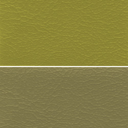 Beige Colored Seat  PVC Leather Cloth