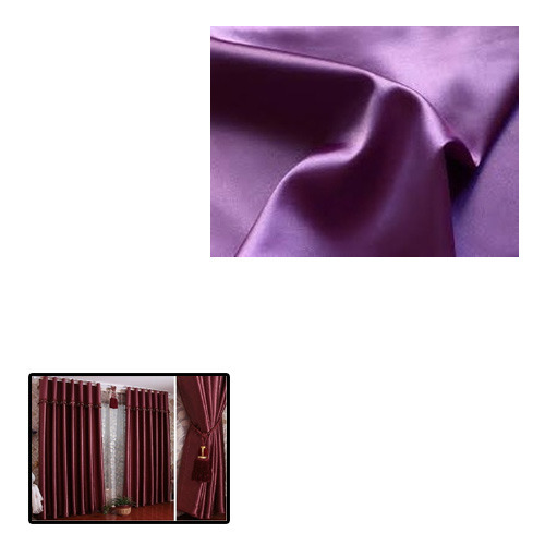 Satin Fabric for Curtains