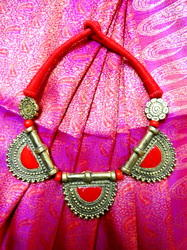 Artificial Brass Jewellery With Cotton Strand