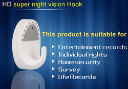 067 DVR Cloth Hook With Motion Sensor