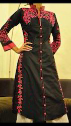 Machine Embroiderey Suit