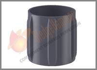 Straight Vane Aluminum Rigid Centralizer