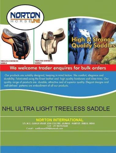 Treeless Saddles | M/S NORTON INTERNATIONAL | Manufacturer