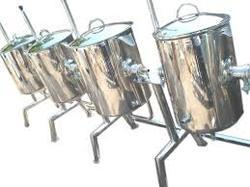Silver Round Catering Equipment, for Hotel
