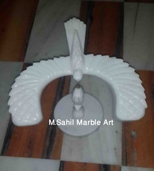 White Marble Bird
