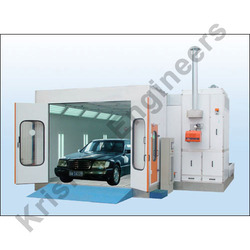 Car Paint Spray with Drying Booth